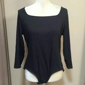 NWOT NY Collection bodysuit size Large